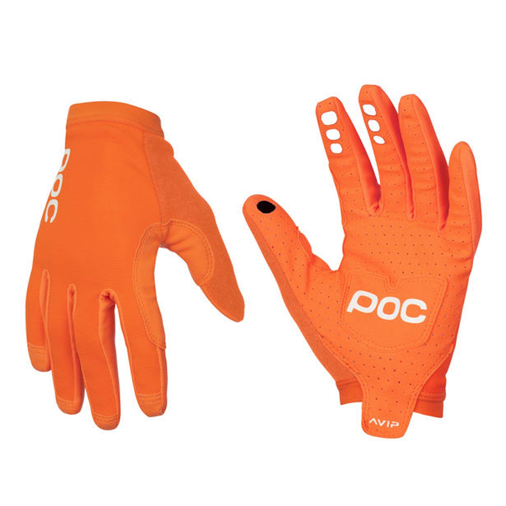 POC - AVIP Glove Long, Cycling Gloves, Zink Orange, L
