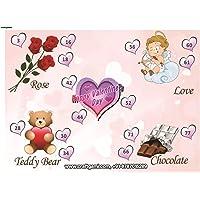 Craftgami - Valentine Theme Tambola Tickets - Housie Tickets (24 Tickets)