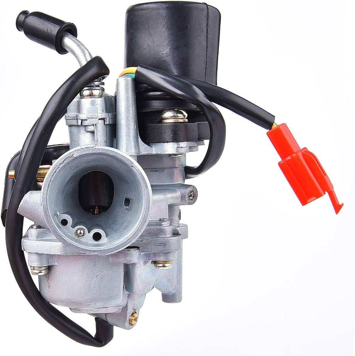 Wingsmoto Carburateur Carb pour Tng Adly Hammerhead Jonway Scooter 49cc 50cc 2 Temps