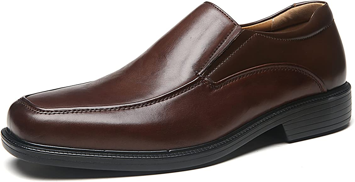Leather Dress Shoes Slip On
