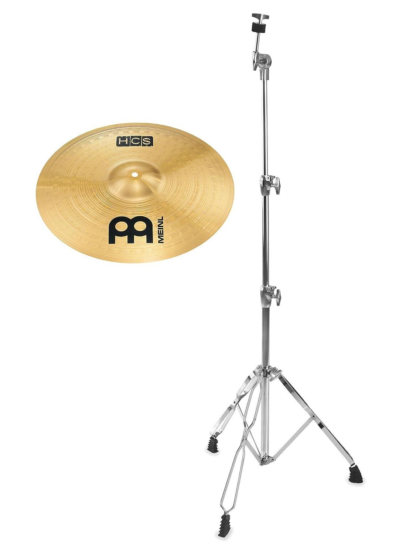 Meinl HCS 18 Crash Set (MS63 Legierung, Finish: Regular, inkl. gerader Beckenständer) Meinl Cymbals