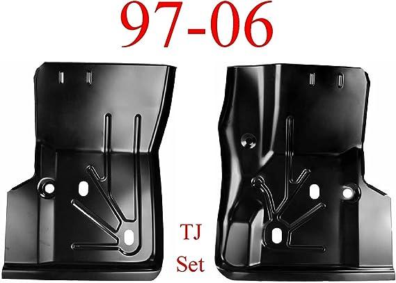 0485-219 97 06 Jeep Wrangler TJ Left Front Floor Pan