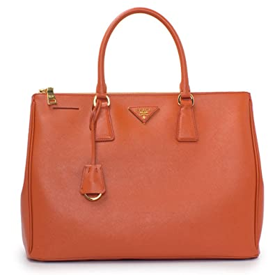 adb02dbbf898 ... sweden prada womens papaya orange saffiano lux tote bn1786 20735 f8019