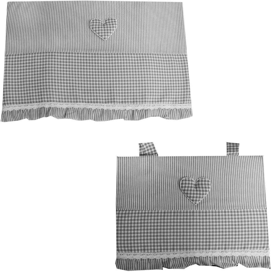 Set Copriforno Coprifuochi Tessuto Soft ZUCCHISSIME Varie Fantasie-Variante 1