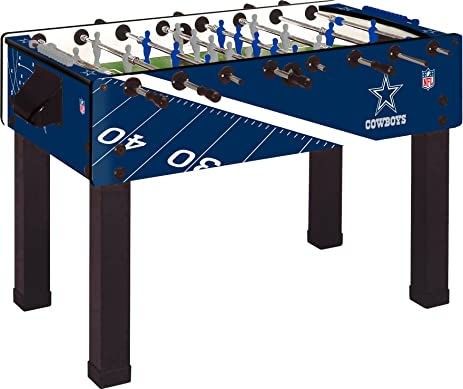 Imperial Officially Licensed NFL Merchandise: Garlando Foosball/Soccer Game  Table, Dallas Cowboys