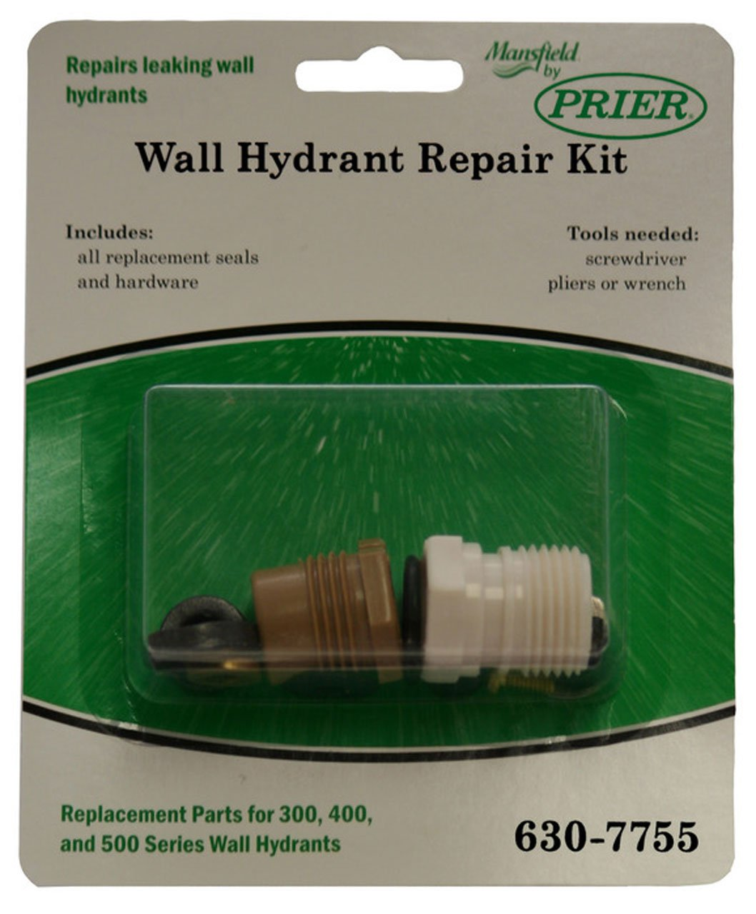 Amazon.com: Prier 630-7755 Wall Hydrant Repair Kit: Home Improvement