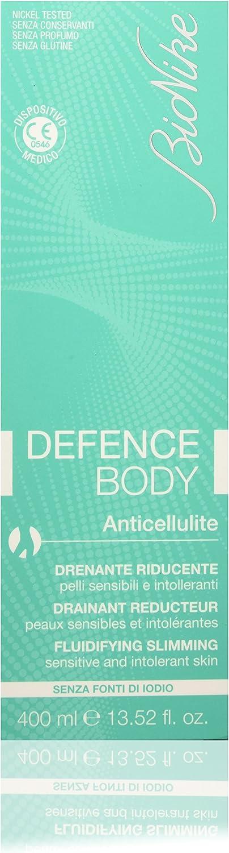 Imagen de la crema anticelulitis Defence Body Anticellul 400Ml disponible en Amazon