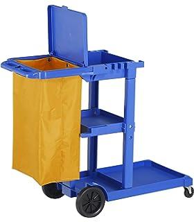 Carro de limpieza multifunción azul con bolsa: Amazon.es ...