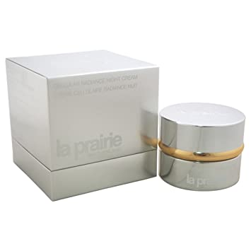 La Prairie by La Prairie - Cellular Radiance Night Cream --50ml/1.7oz - WOMEN usda certified organic face & eye moisturizer by beefriendly sensitive collection - deep moisturizing all in one face, eye, neck and decollete anti aging cream reduces wrinkles & fine lines