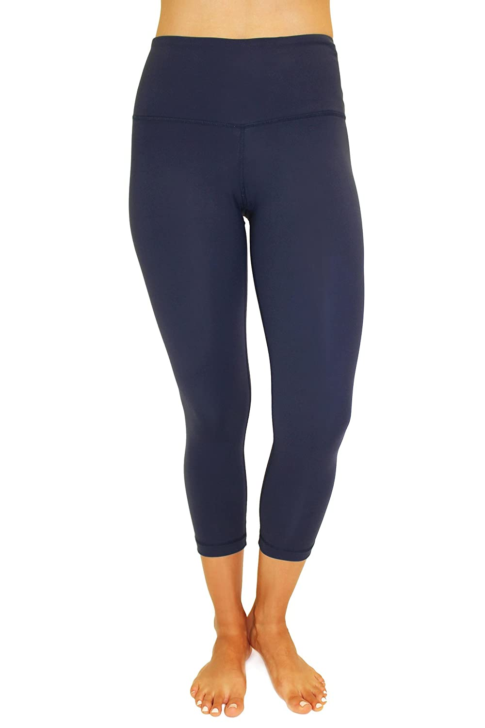 45c9e0e357677 Order a pair of the High Waist Tummy Control Power Flex Capri by 90 Degree  by Reflex and say hello to a yoga capri you'll never want to take off!