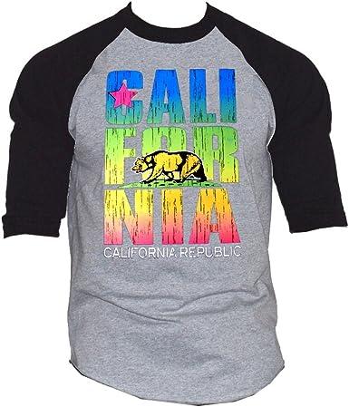 California Republic Cali Bear Printed Leggings Size Small Black