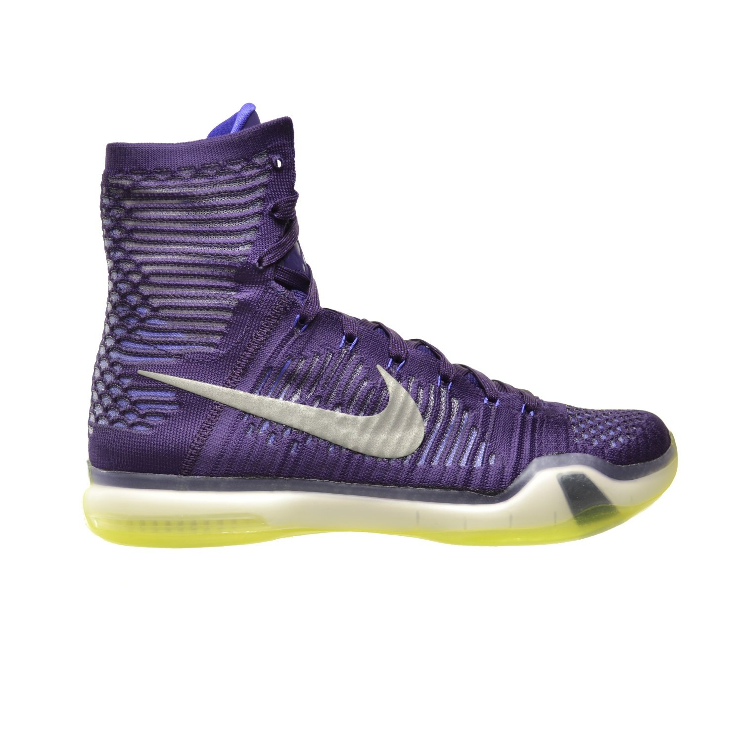huge discount 43e31 424f8 Amazon.com   Nike Kobe X Elite Men s Shoes Grand Purple Reflect Silver- Persian Volt 718763-505 (9.5 D(M) US)   Basketball