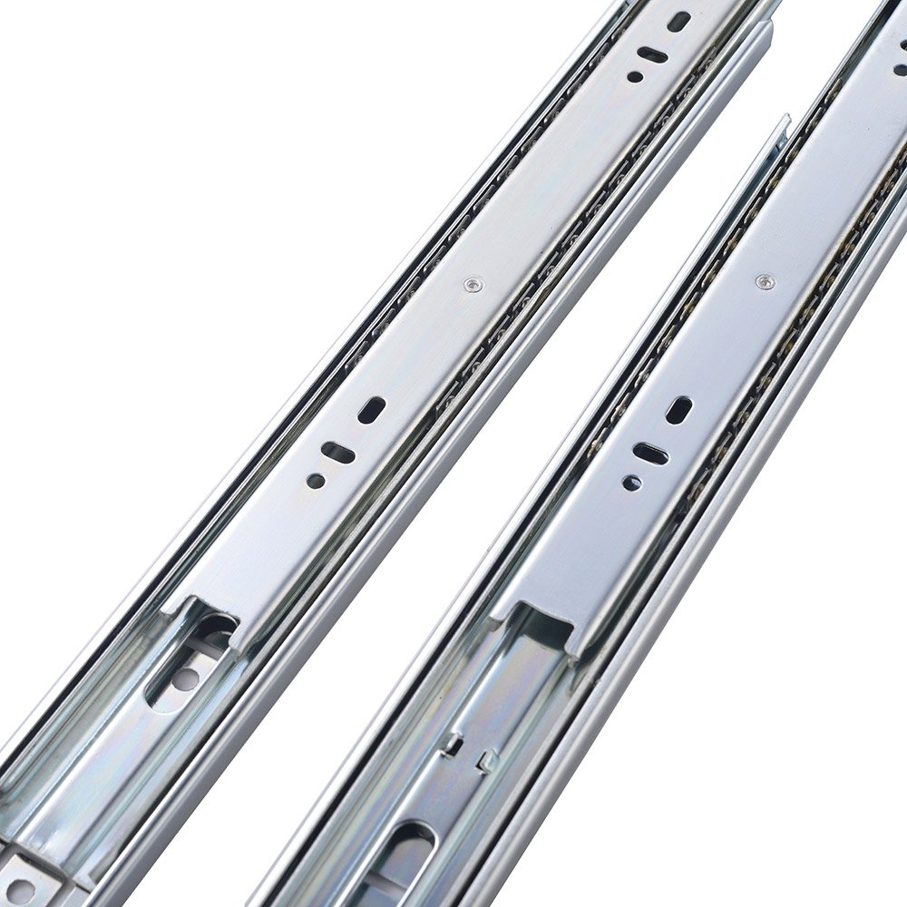Friho 10 Pair of 22 Inch Hardware Ball Bearing Side Mount Drawer Slides, Full Extension, Available in 10'',12'',14'',16'',18'',20'',22'' Lengths by Friho (Image #4)