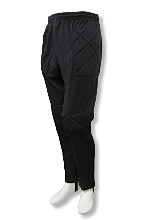 Academy soccer goalie pants by Code Four Athletics - black - size Adult  Small e80c7dca68
