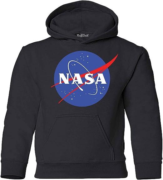 NASA logo black Unisex Hoodie