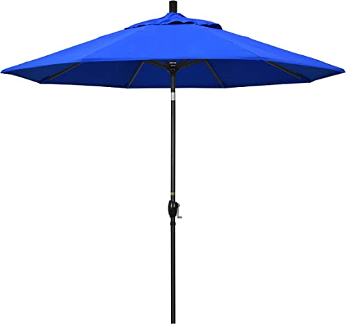 California Umbrella GSPT908302-5401 9' Round Aluminum Market