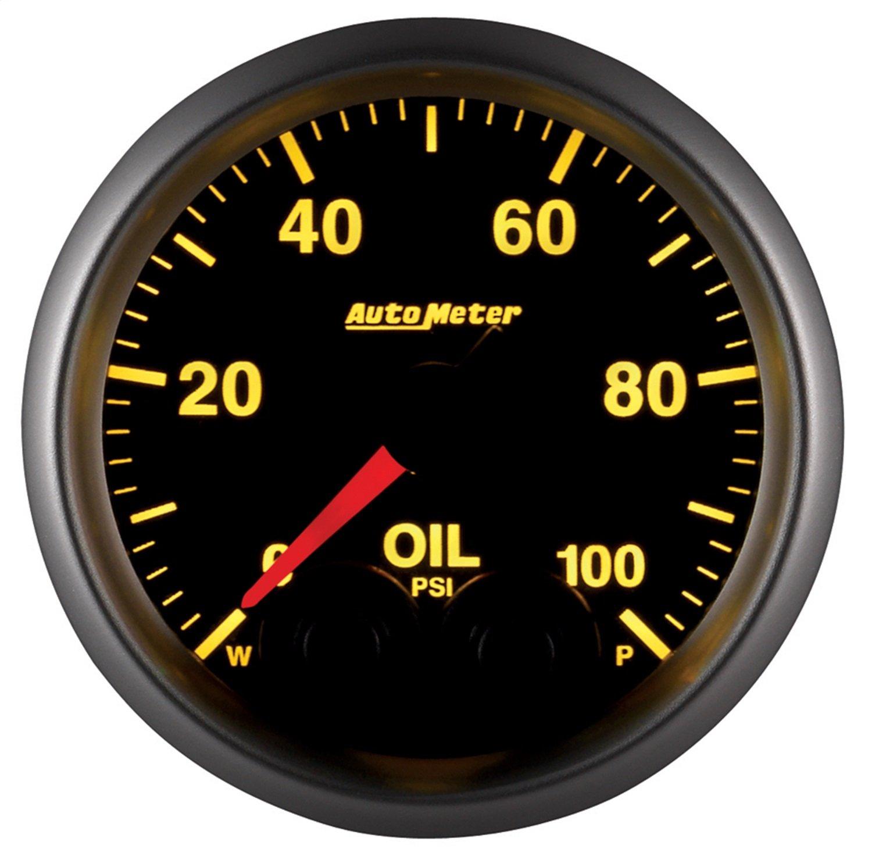 Auto Meter 5652 Elite Series Oil Pressure Gauge