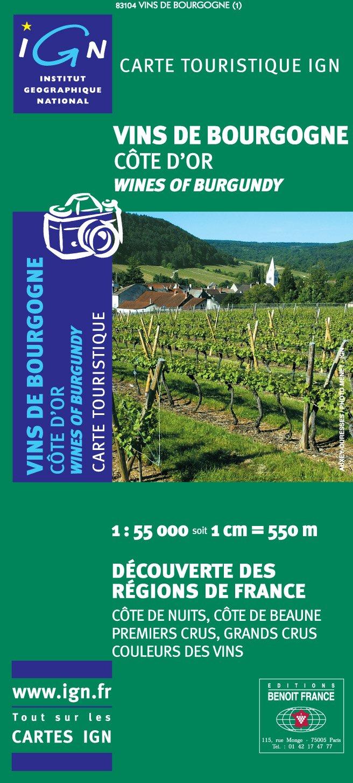 """Read Online """"vins de Bourgogne ; Côte d'Or ; 83104"""" PDF"""