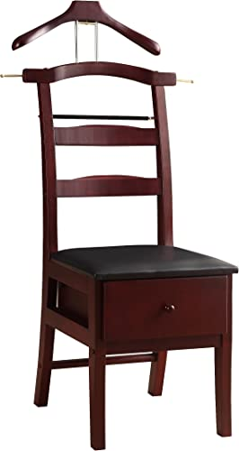 Proman Products Chair Valet, Mahogany