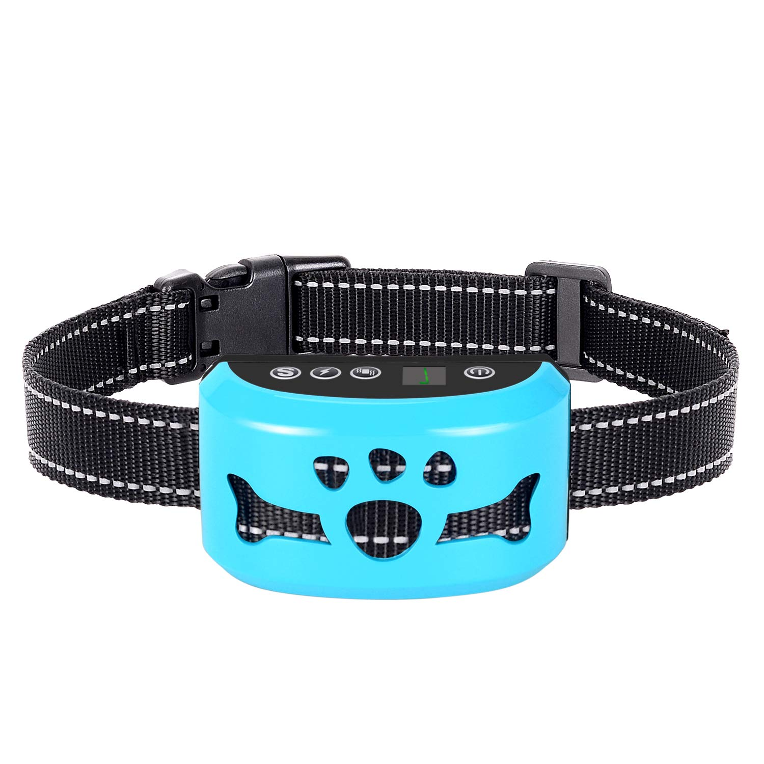 AHJDL Dog Bark Collar-7 Adjustable Sensitivity and Intensity Levels-Dual Anti-Barking Modes-Rechargeable-Rainproof-No Barking Control Dog Shock Collar for Small Medium Large Dogs by AHJDL
