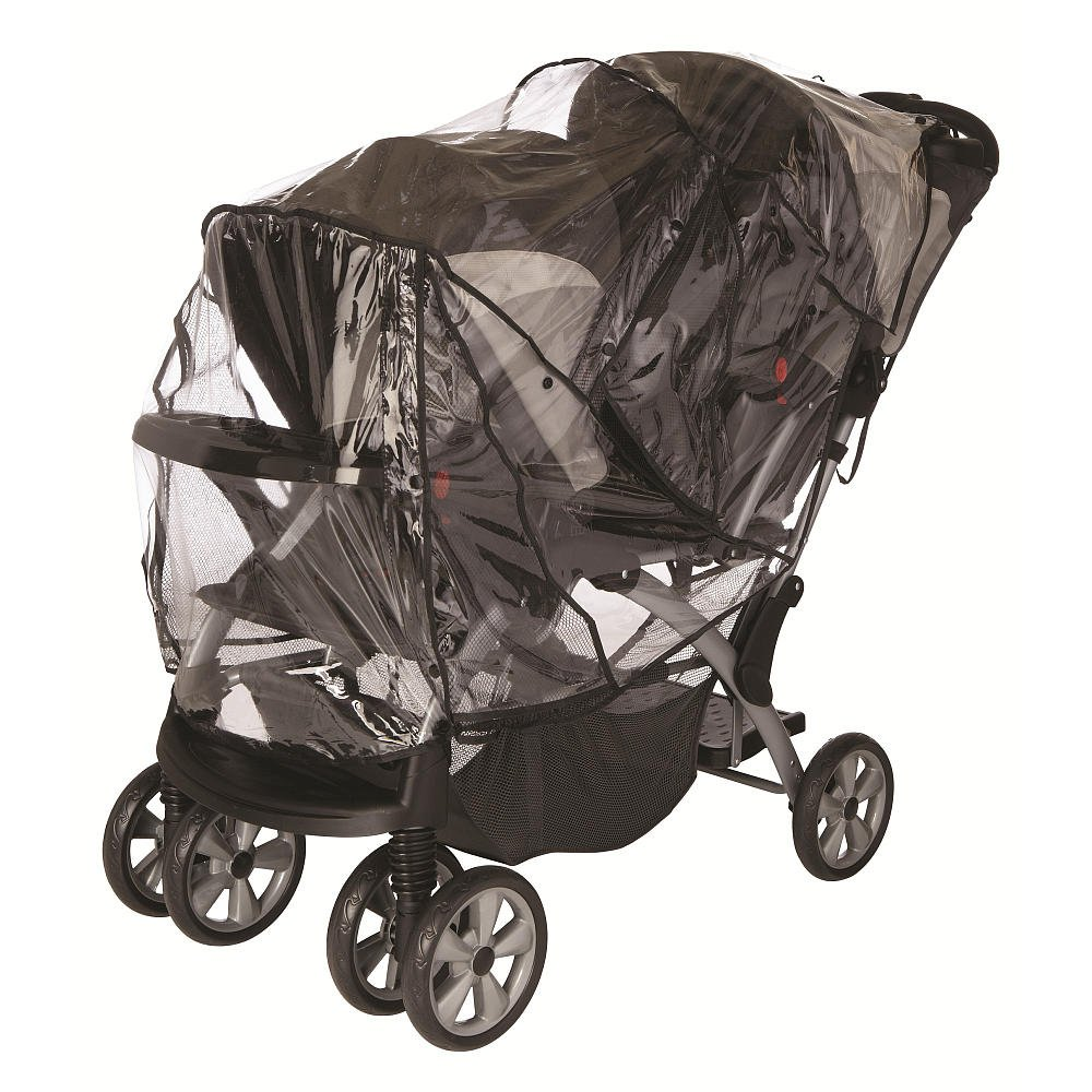 Babies R Us Tandem Stroller Rain Cover Unknown 3934019H12