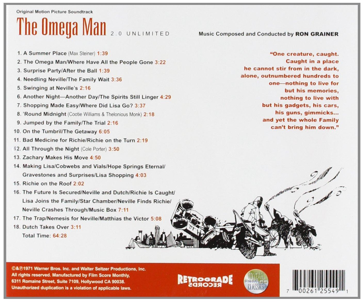 The Omega Man : Ron Grainer: Amazon.es: Música