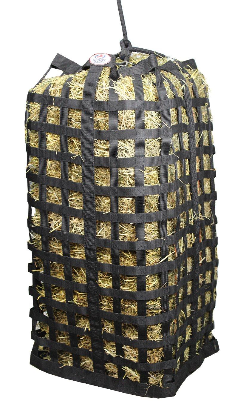 Derby Originals XL Go Around Patented 4 Sided Slow Feed Hay Bale Bag with Warranty by Derby Originals