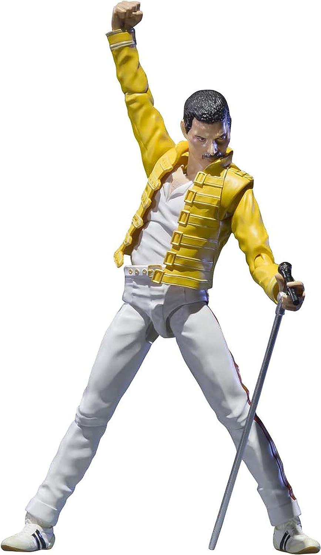 Bandai - Figurine Queen - Freddie Mercury SH Figuarts 15cm ...