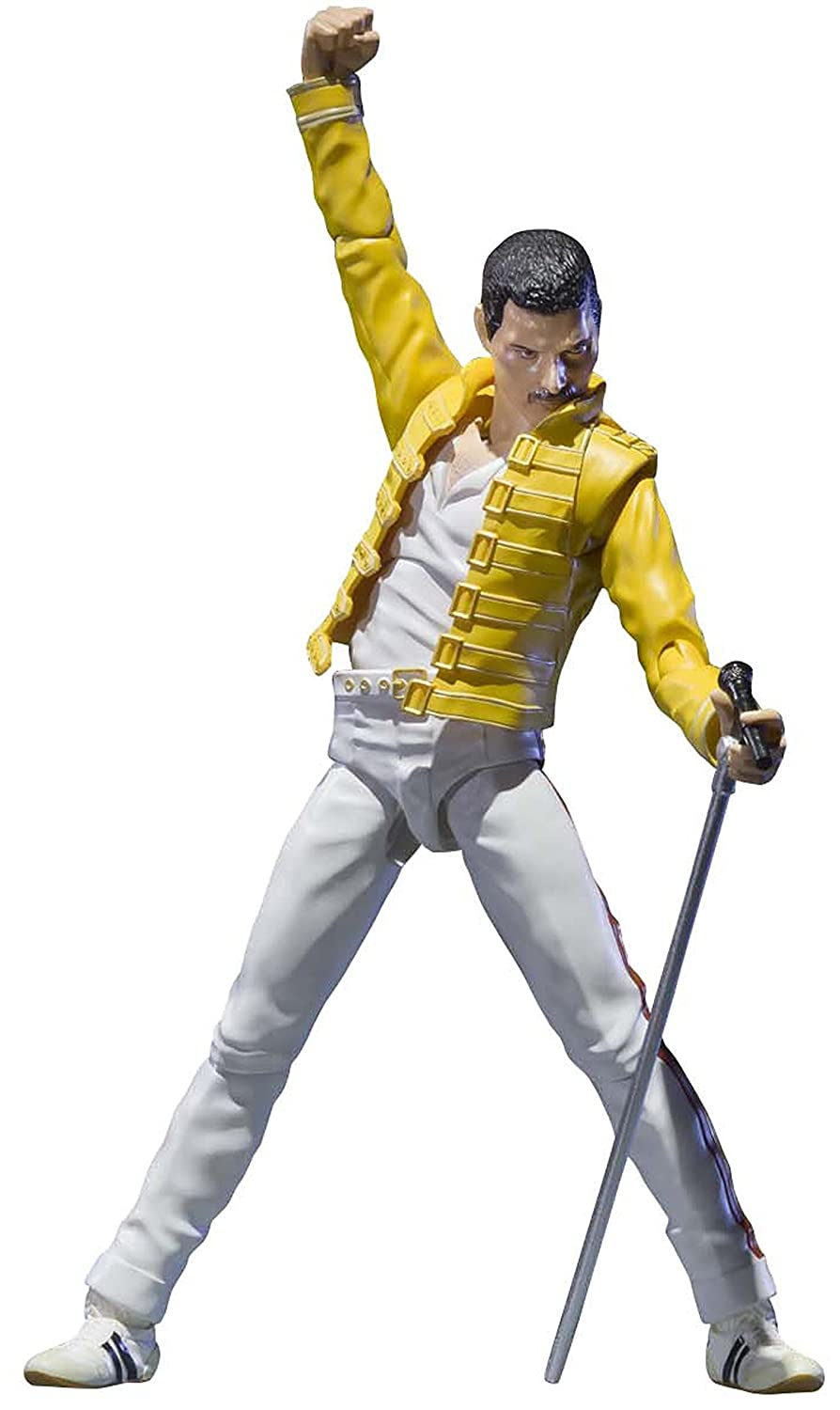 Bandai Tamashii Nations Freddie Mercury Singing Artist Action Figure BAN03826
