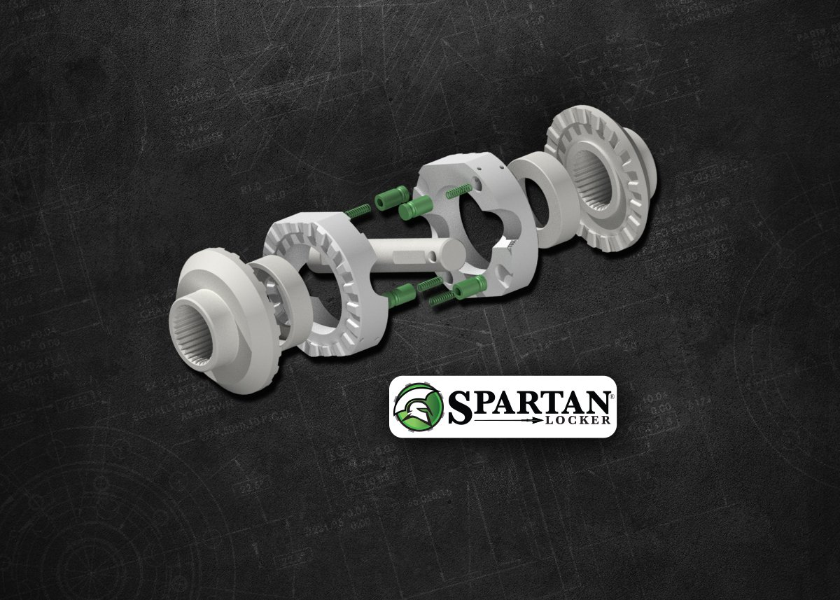 Spartan Locker for Chrysler 8.25 Differential with 29 Spline Axles USA Standard Gear SL C8.25-29
