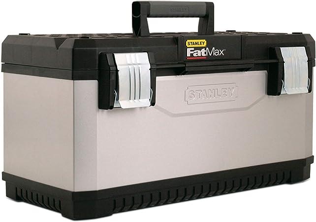STANLEY FATMAX 1-95-615 - Caja de herramientas metálica FatMax, 50 ...