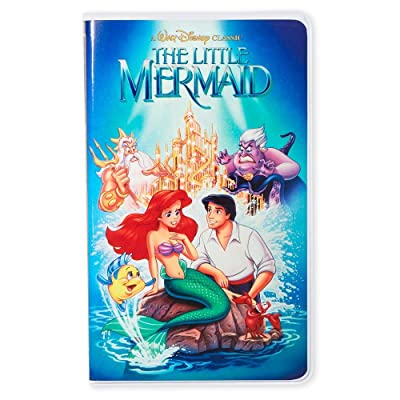 Disney The Little Mermaid Vhs Case Style Journal: Everything Else