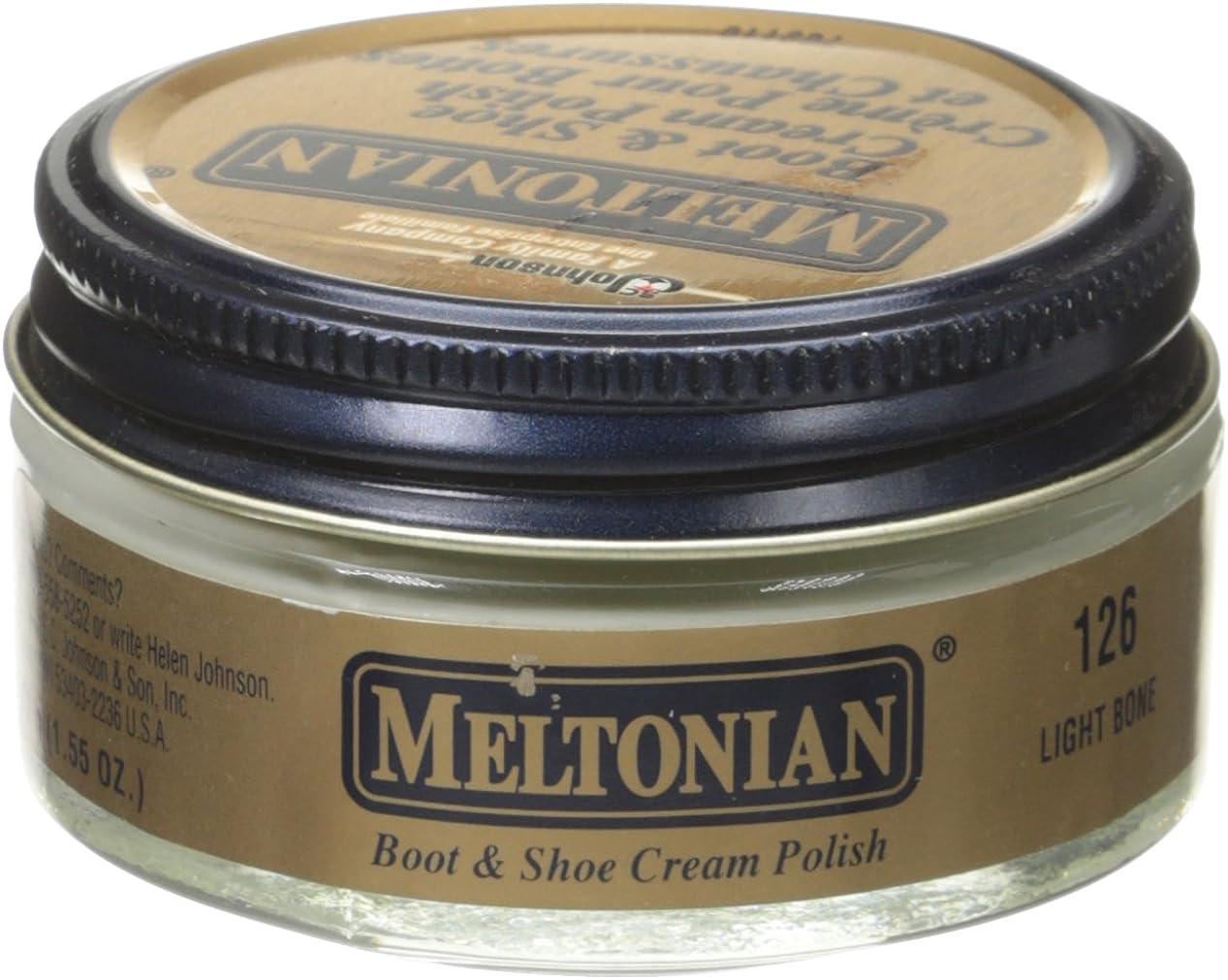 Meltonian Shoe Cream, 1.55 Oz, Light