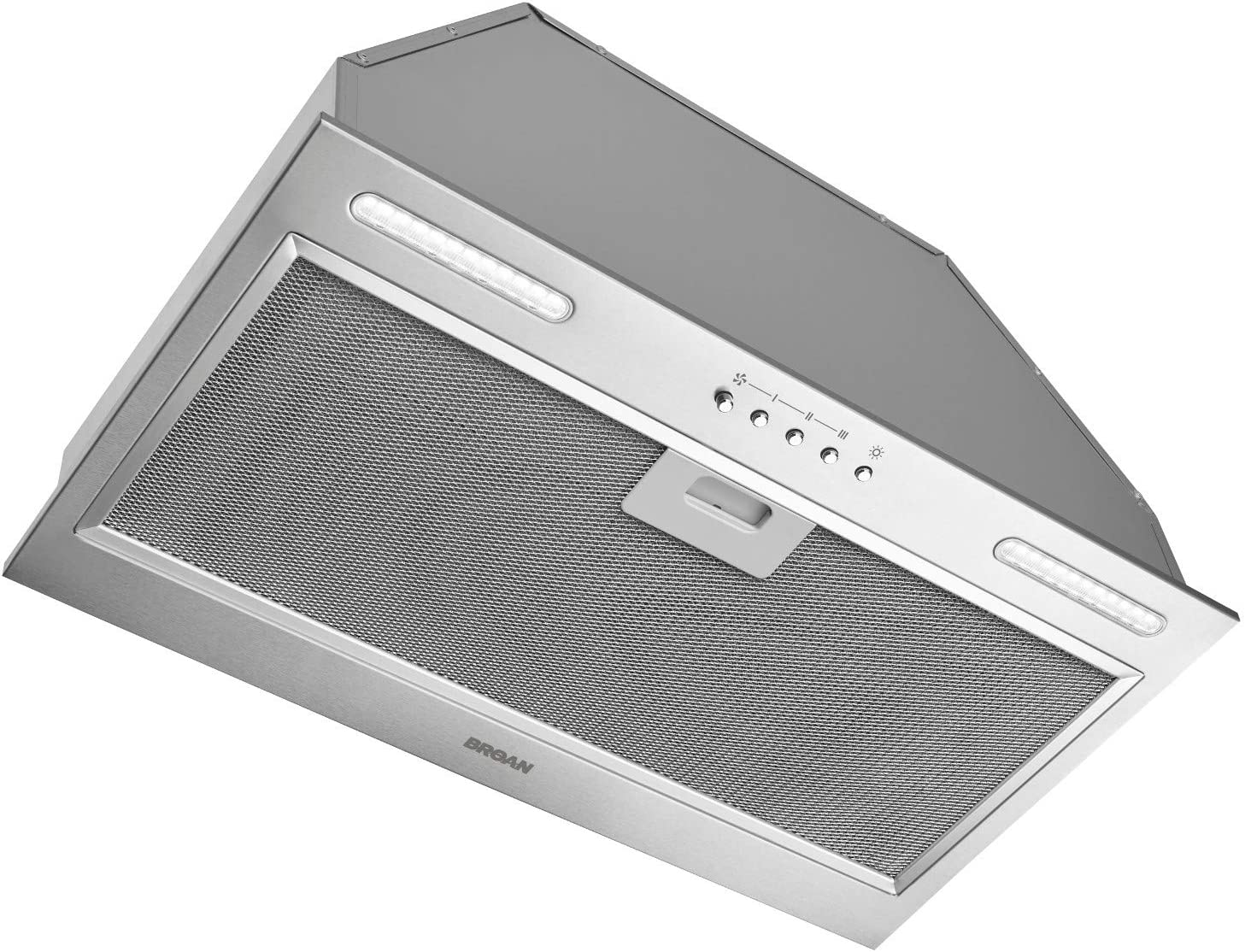 Broan-NuTone PM390SSP Stainless Steel Custom Range Hood Power Pack with LED Lights, 390 CFM