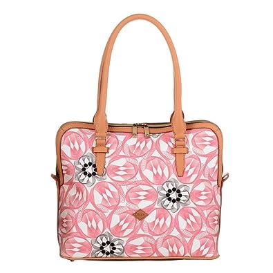 M Carry All OES7184-330 Pink Flamingo Damen Henkeltasche, Tragetasche, Schultertasche Pink (33,5 x 15 x 29 cm) Oilily