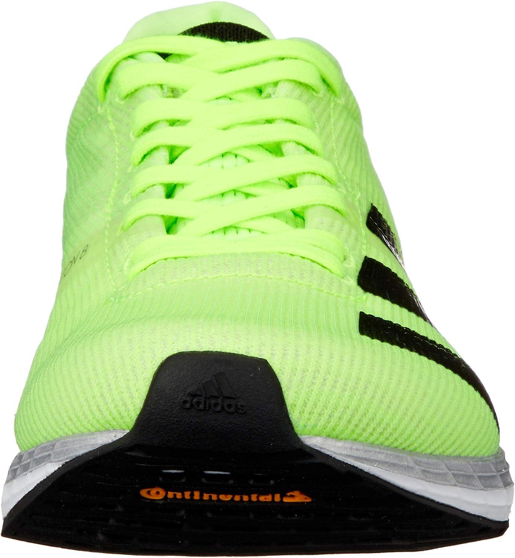 adidas Adizero Boston 8 M, Chaussure de Course Homme Signal Green Core Black Grey One F17