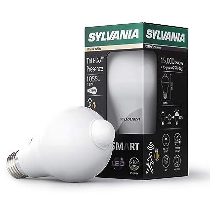 Sylvania Presence Sensor infrarrojo de bombilla A65 1055lm 830=3000 K E27