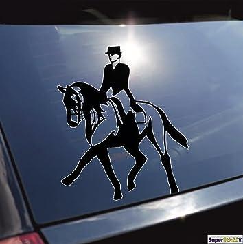 Reiten Dressur Pferd Aufkleber Ca 20 Cm Autoaufkleber
