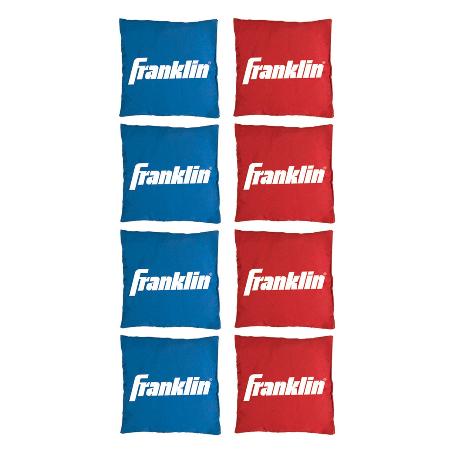 Franklin Sports Replacement Bean Bags for Cornhole - Includes 8 Bean Bags - 4 inch x 4 inch