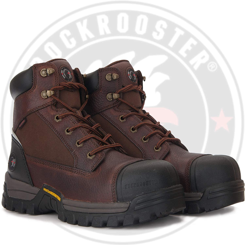 ROCKROOSER Work Boots for Men