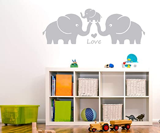 quote art for baby girl nursery elephants family room wall decor 3 prints