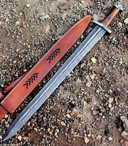 Custom Knives Swords (CUSTOM DAMASCUS STEEL / SWORD / DAGGER / CELTIC SWORD 32