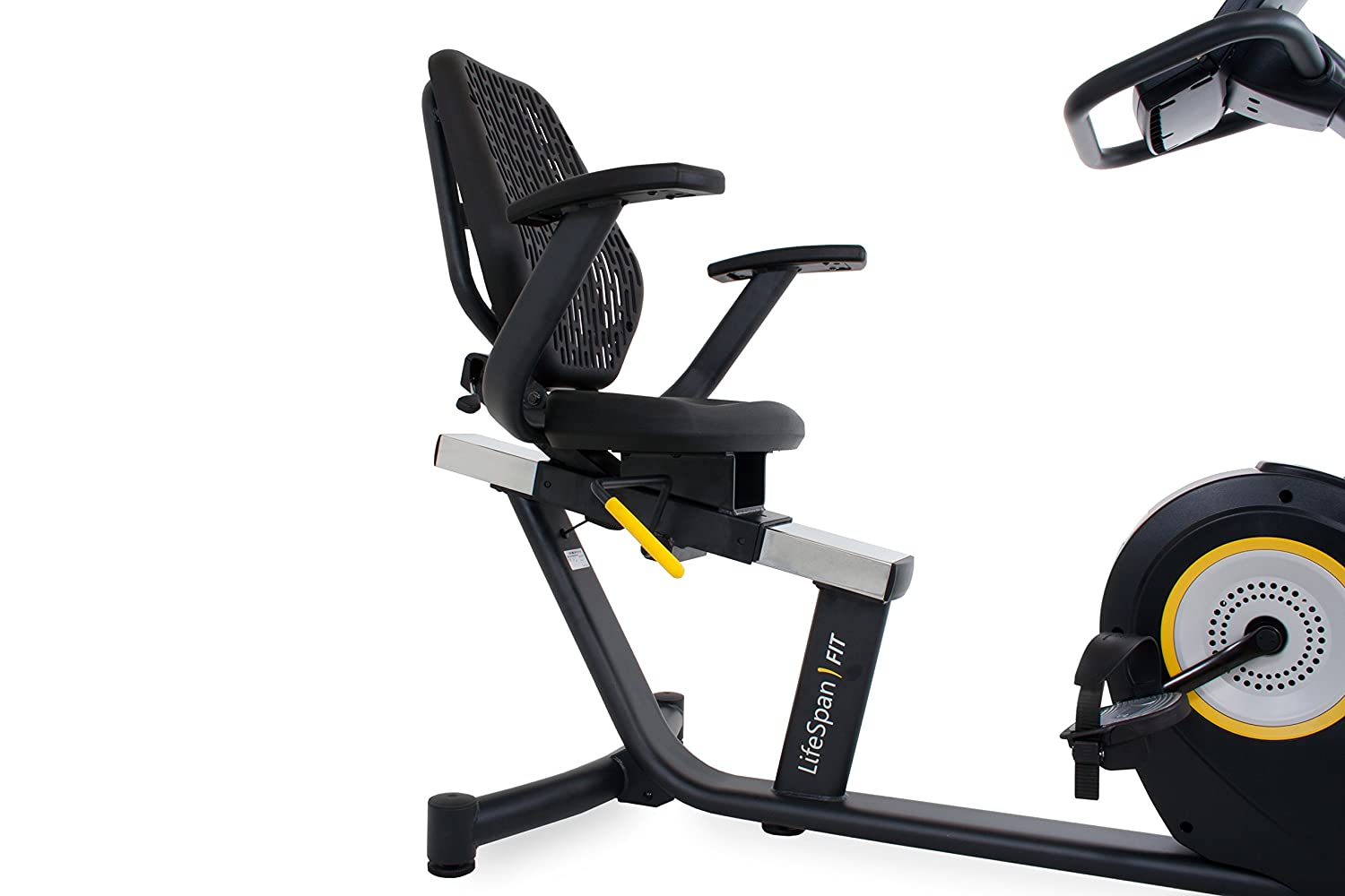 LifeSpan Fitness Recumbent Bike LifeSpan R5i Recumbent Stationary Bike, Black