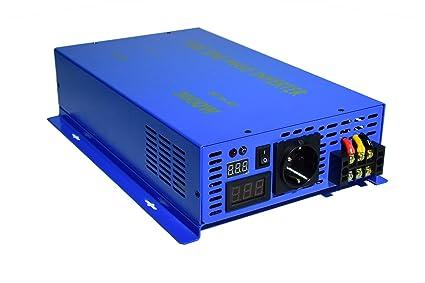 Reiner Sinus Welle Spannungswandler Wechselrichter 1000w DC 12v auf 230v Pure sine Wave Power Inverter