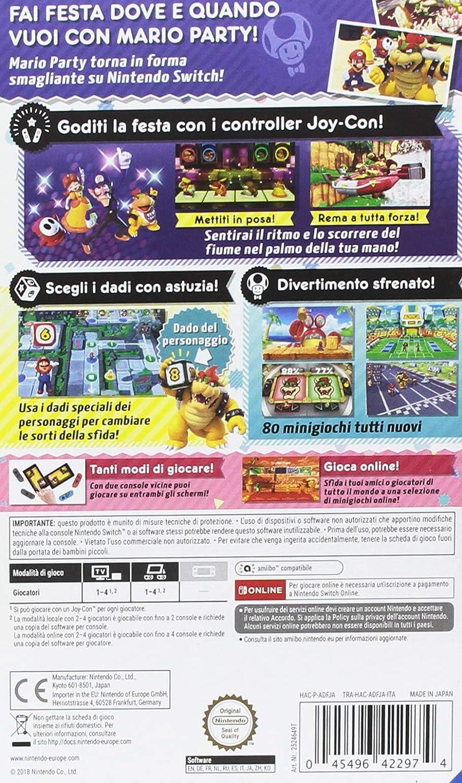 SUPER MARIO PARTY - Nintendo Switch [Importación italiana]: Amazon.es: Videojuegos