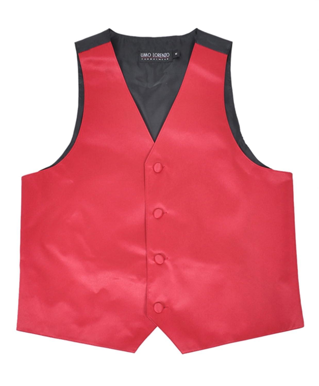 Boys' Poly Satin Solid Color Vest