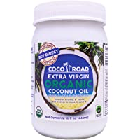 Coco Road Organic & Fair Trade Virgin Coconut Oil (15 Fl Oz)