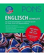 PONS Englisch KOMPLETT: Das große Nachschlagewerk zur englischen Sprache