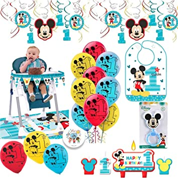 Mickey Mouse High Chair Decorating Kit  from images-na.ssl-images-amazon.com