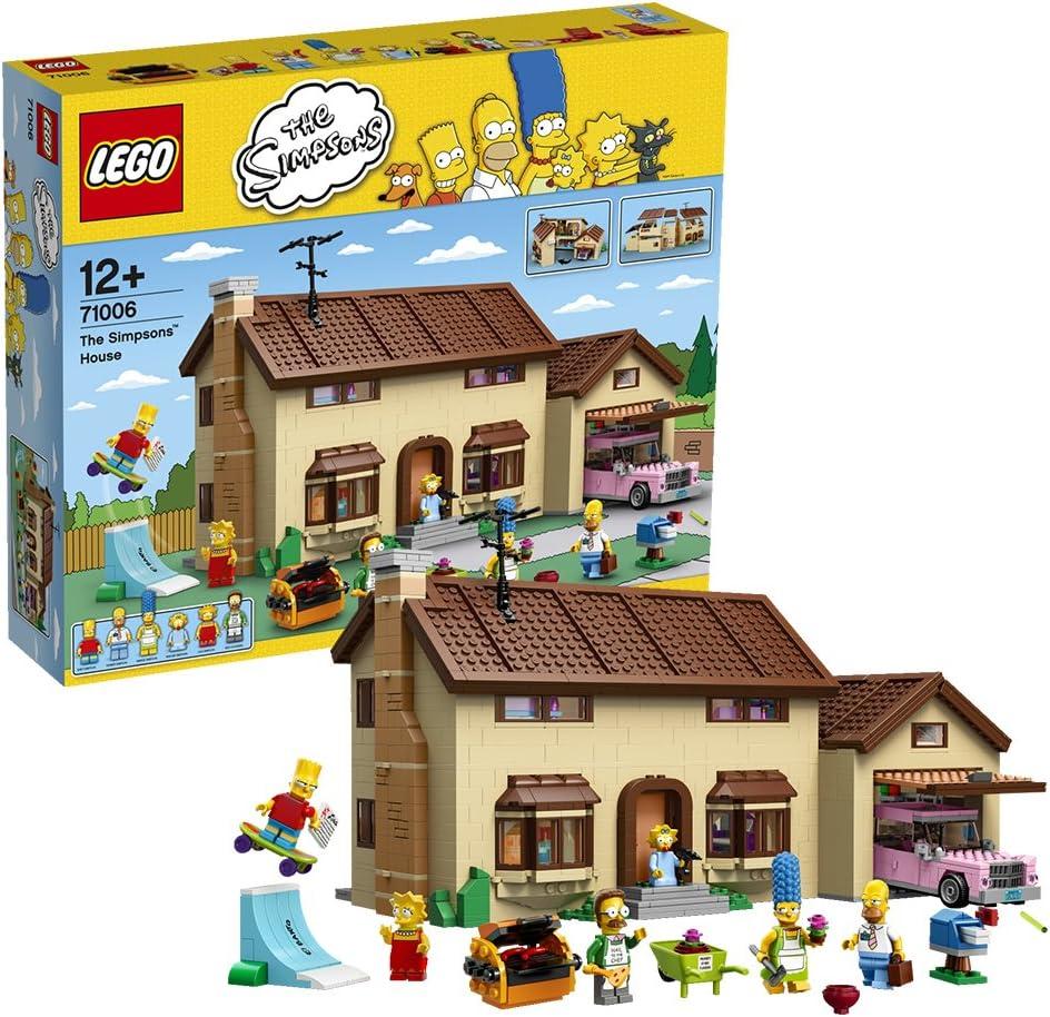 LEGO 71006 - La Casa De Los Simpsons: LEGO: Amazon.es: Juguetes y juegos